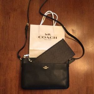 Coach purse. Used 1x. Excellent condition